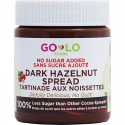 GoLo Foods DARK HAZELNUT SPREAD