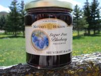 Wild Blueberry Sugar-Free Jam Preserves