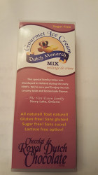 Dutch Monarch Ice Cream Mix